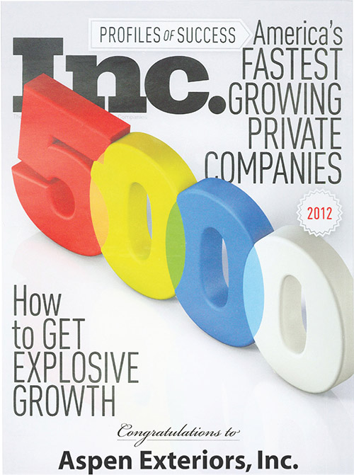 INC. 500: Fastest Growing Companies