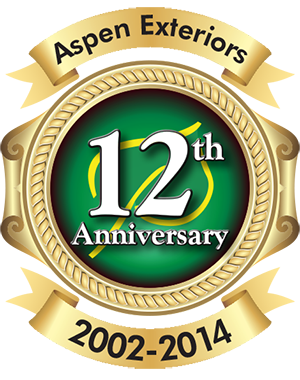 Aspen Exteriors: 12th Anniversary