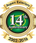 Aspen Exteriors: 14th Anniversary