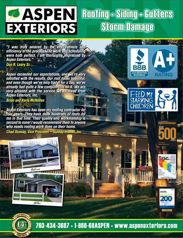 Click here to download the Aspen Exteriors Brochure