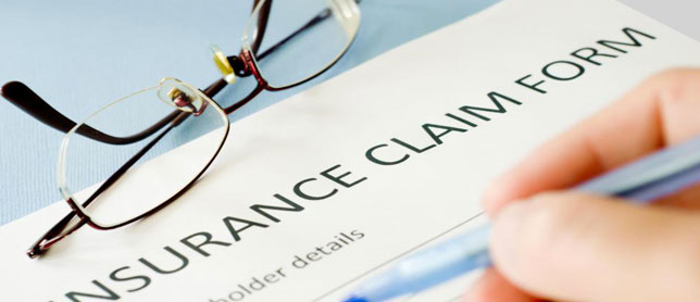 insurance claims center