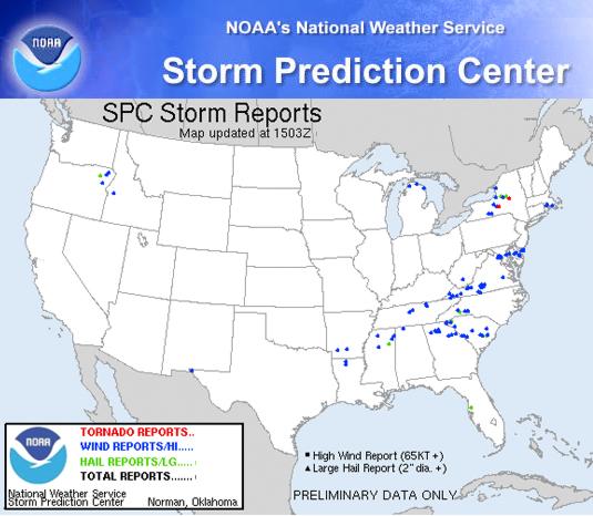 Storm Reports Aspen Exteriors