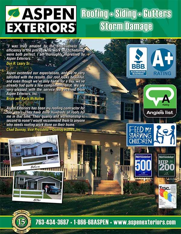 Aspen Brochure Aspen Exteriors