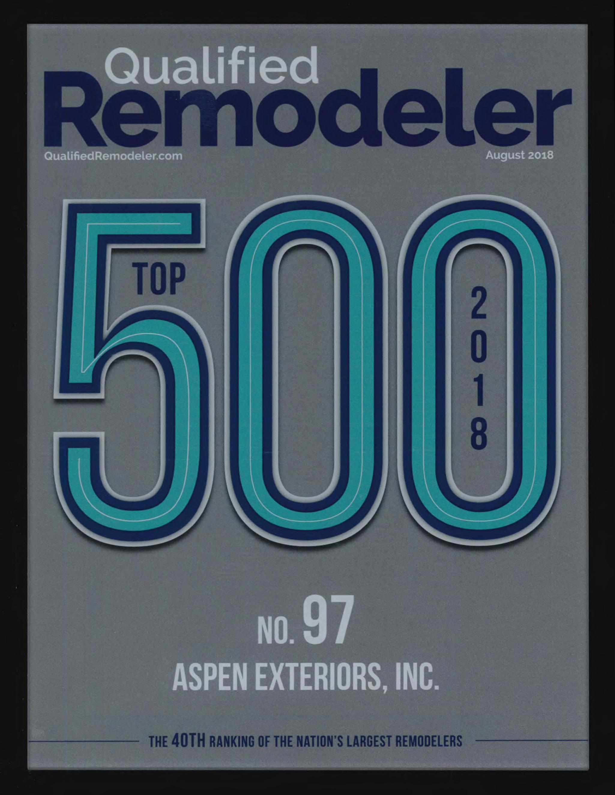 Qualified Remodeler: Top 500