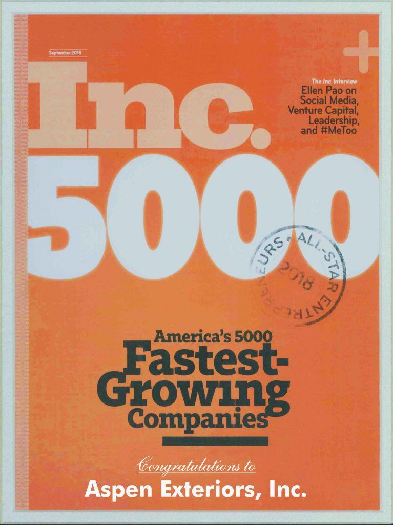 INC. 500: 2017 Greatest entrepreneurs