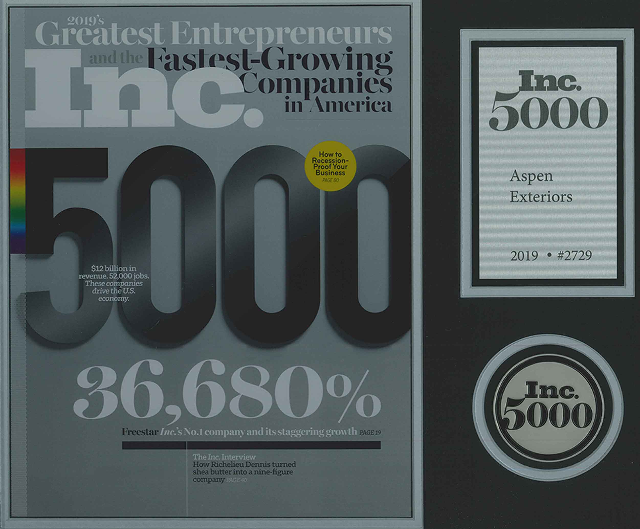 INC. 500: 2019 Greatest entrepreneurs