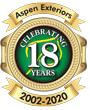 Aspen Exteriors: 17th Anniversary